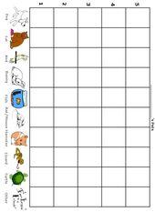 Wie viele Haustiere habe ich? – Free Printable Preschool / Kindergarten Graph – Child Development
