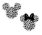 disney, cheetah, animal kingdom, safari, safari hat, minnie, mickey, mouse ear animal print, printable, silhouette, cricut, instant download