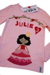 """Geburtstag Shirt """"Heute bin ich eine Prinzessin""""   – Heartstuff"""