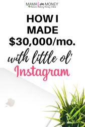 Schließlich erfahren Sie, wie Sie Ihr Instagram-Konto auf die richtige Weise monetarisieren und wie ich … – Blog & Business Inspiration