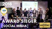 AWARD-Sieger 2018 Dr. med. Daniel Talanow von e-sthetic®