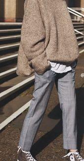 Minimalist Vintage Classy Street Style and Fashion…