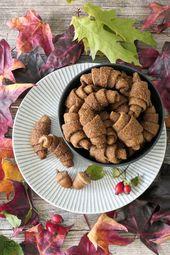 Unverschämt leckere Mini-Nusshörnchen mit gerösteten Haselnüssen
