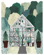 Gartengewächshaus drucken