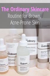 The Ordinary Skincare Regimen For Brown Acne Prone Skin The Ordinary Skincare Acne Prone Skin The Ordinary Skincare Routine
