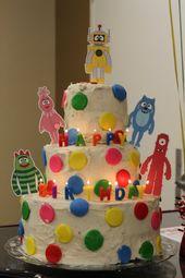 Mein Leben in vielen Titeln: Yo Gabba Gabba Geburtstagsfeier   – Kids' birthday ideas