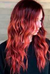 29 Elegant And Chic Color Options And Styles For Gorgeous Auburn Hair,  #Auburn #auburnhairst…