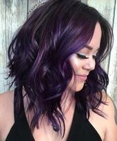 Luxury silver and black hairstyles – new hair models,  #balayagehairviolet #black #Hair #hair… – balayagehair
