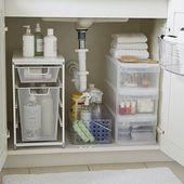 Starterkit für Waschbecken im Bad – Alles, was Sie brauchen, um den Schrank un … #alles #b…