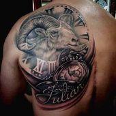 50 besten Widder Tattoos Designs und Ideen mit Bedeutungen, Widder-Tattoos: Widder ist das erste Sternzeichen. Menschen, die zwischen dem 21. März un…