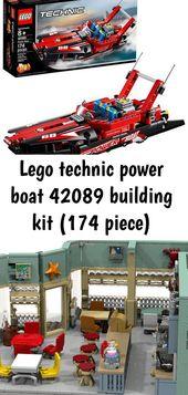 Lego Technik Motorboot 42089 Bausatz (174 Teile)   – Lego