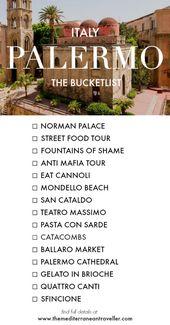 15 expériences uniques pour votre Bucketlist de Palerme