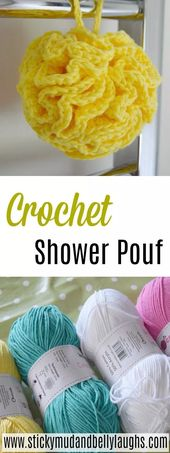 Crochet Projects – A Crochet Shower Puff