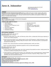 Entry Level Dental Assistant Resume  Resume Examples