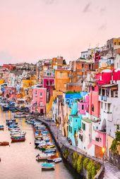 Procida im Golf von Neapel – eine Augenweide