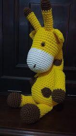 Amigurumi girafa no Elo7 | Fofurices kids Crochê (F49A8F) | 280x158
