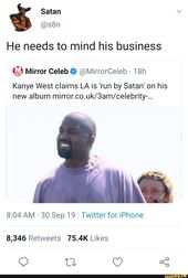 Kanye Is Hated Mostly For His Huge Ego In Numerous Twitter Rants And Interviews Senior Quotes Funny Senior Quotes Best Senior Quotes