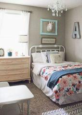 Schönes Schlafzimmer des kleinen Mädchens  – Bedroom | Little Girl