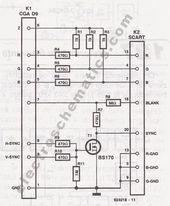 Convertor Vga To Scart Electronics Workshop Computer Setup Voltage Divider