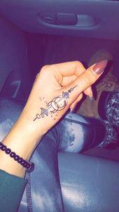 40 Erstaunliche Fingertätowierung für Frauen, die Sie lieben werden – So cool, aber eines #tatoofeminina – tatoo feminina