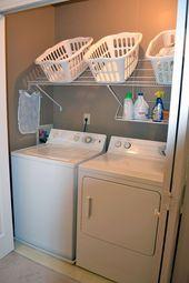 50 Ideen zur Aufbewahrung und Organisation von Wäsche