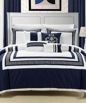Love this Navy Venice Comforter Set on #zulily! #zulilyfinds