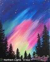 NORTHERN LIGHTS Original Painting