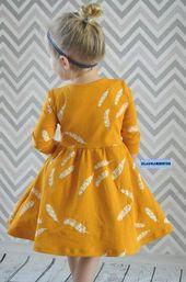 Schnittmuster AnniNanni kleine Ballerina-Kleid von Anni Nanni