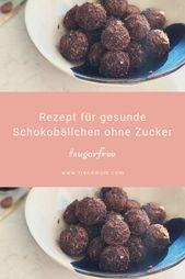 Schokoladenbällchen   – Essen für Kinder