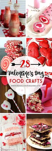 Photo of 28 dagen Valentijnsdag voor kinderen Food Crafts on Frugal Coupon Living. Neem een tijdje …