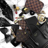 "Fashion | Beauty | Travel on Instagram: ""Handbag essentials"