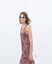 Zara Trf Combinaison Imprimee Modestil