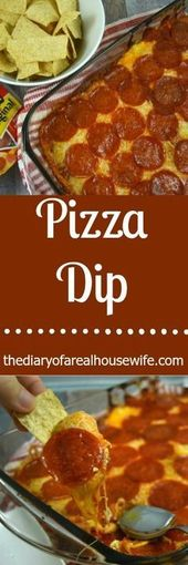 This is the BEST dip recipe!!! I loved it. Pizza Dip. Loaded with creamy cheese …