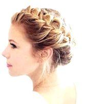 Dirndl hairstyle // braided Dutchbraid – #Dirndl #Dutchbraid #frisur #braided #side