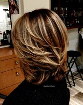 Schn Von Frisuren Mittellanges Haar Gestuft Modern…