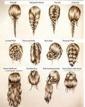 Einfache Dinge mit langen Haaren zu tun
