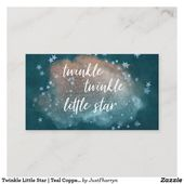 Baby Showers Twinkle Twinkle Little Star | Teal Copper Gifts on Display