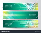 Design advertisement layout. Futuristic technology vector banner. Modern background. #Ad , #AFFILIATE, #layout#Futuristic#Design#advertisement