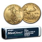 2020 1 10 Oz Gold American Eagle Mintdirect Premier Tube Sku 196131 Ebay In 2020 Gold American Eagle Coins Eagle Coin
