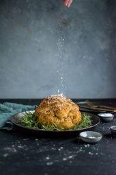 Gebackener Blumenkohl: Eine festliche Vorspeise – vegetarische und vegane Rezepte