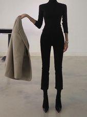 Ideen für minimalistische und schicke Outfits