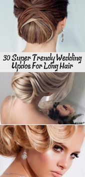 30 Super Trendy Wedding Updos For Long Hair