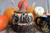 Zurück zu Mollys Schokoladenkuchen Harry Potter für Halloween