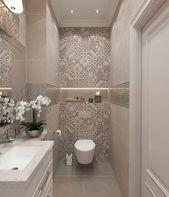 55 Frische kleine Master-Badezimmer umgestalten Id…