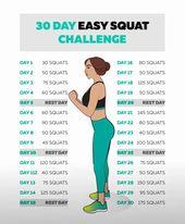 30 Tage Kniebeugen Herausforderung, um den Gewichtsverlust zu reduzieren