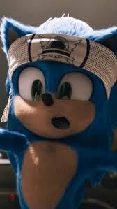 In Sonic The Hedgehog 2020 Sonics Gym Headband Has The Original Video Game Logo On It In 2020 Sonic The Hedgehog Hedgehog Movie Sonic And Shadow
