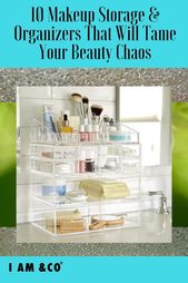 10 makeup containers and organizers that will tame your beauty chaos