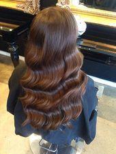 Vintage Hollywood Glamour Waterwaves Kinkycurlystraight Vintage Hollywoodstyl Glamour Hair Hollywood Glamour Hair Hair Styles