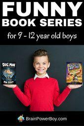 Série de livres amusants pour garçons de 9 à 12 ans  – Raising a Reader
