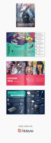 Ilustración de revista   – ; Diagramación